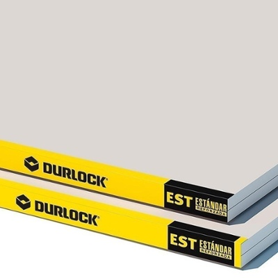 PLACA DURLOCK STANDARD 12.5 MM / 1.20x2.40 M