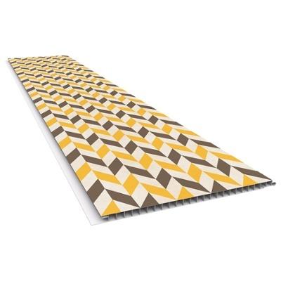 PARED PVC MOSTARDA - 0.25X6 MTS / Espesor: 10 MM