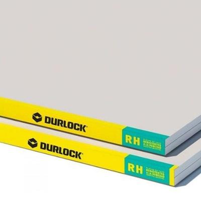 PLACA DURLOCK RH (VERDE) 12.5 MM / 1.2x2.40 M
