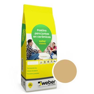 WEBER CLASSIC BEIGE X 2 KG
