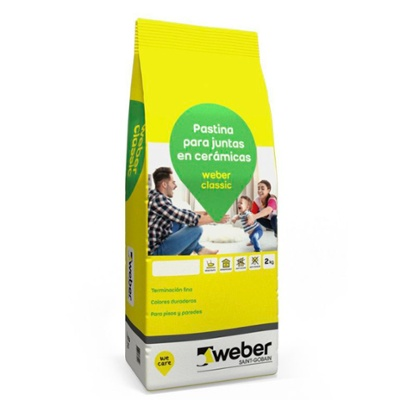 WEBER CLASSIC PLATA X 2 KG.