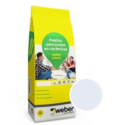 WEBER CLASSIC GRIS PERLA X 2 KG.