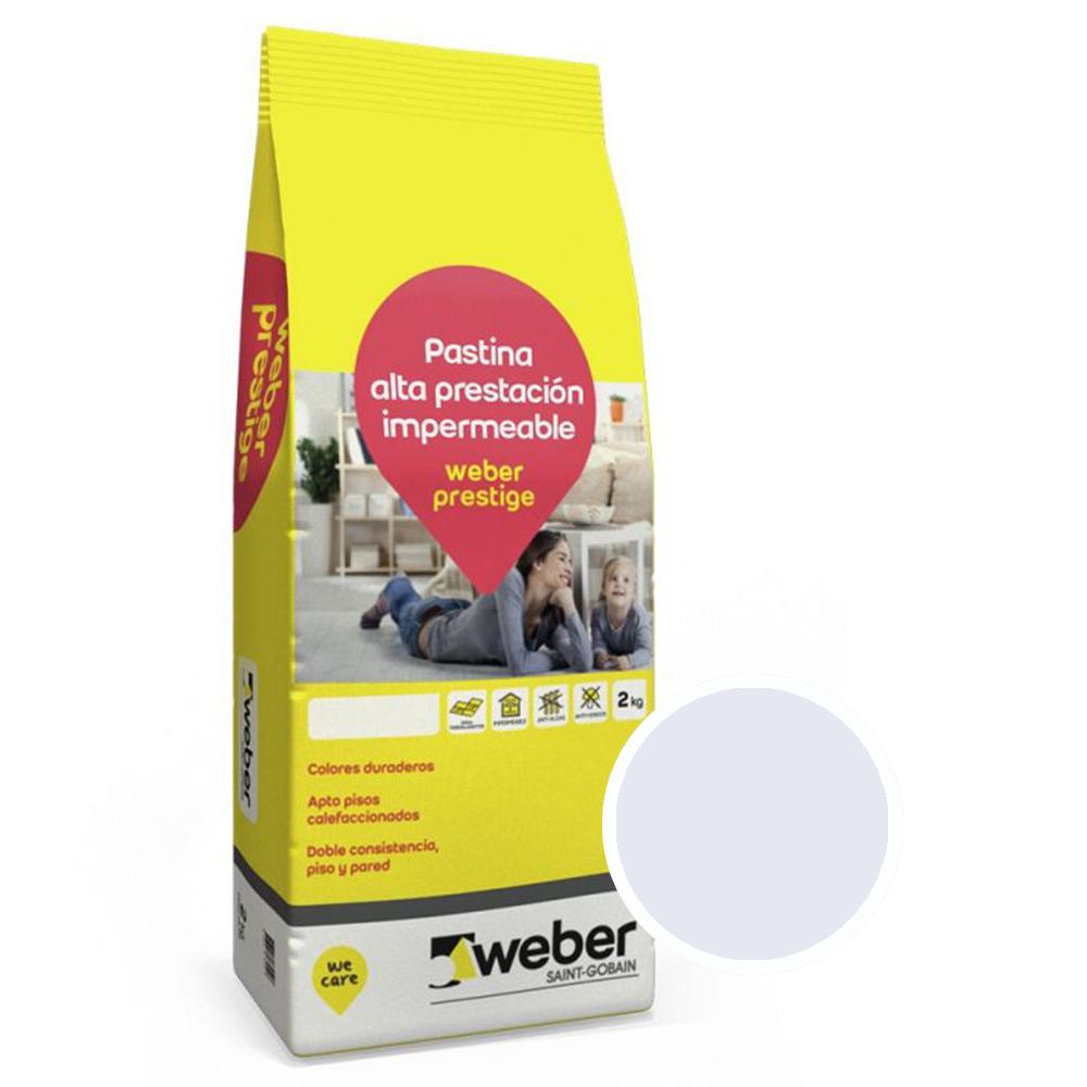 WEBER PRESTIGE GRIS PERLA X 2 KG.