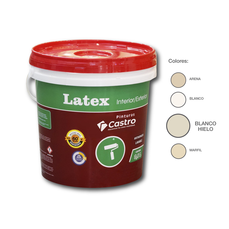 LATEX INTERIOR / EXTERIOR BLANCO HIELO 3.6 LTS