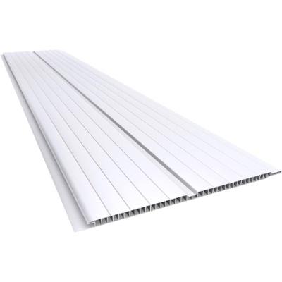 CIELORRASO PVC BLANCO  - 0.20X1.5m / Espesor: 7 MM