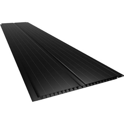 CIELORRASO PVC NEGRO - 0.20X6 MTS / Espesor: 7mm