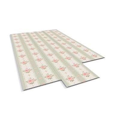 PARED PVC FLOR CL/ROSES - 0.25X6 MTS / Espesor: 10 MM