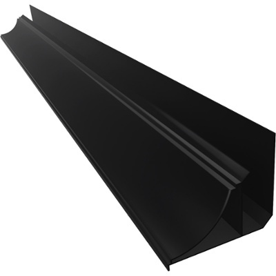 ANGULO PERIMETRAL PVC 6m NEGRO