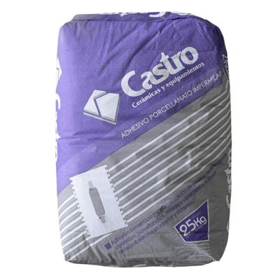 ADHESIVO P/ PORCELANATO CASTRO 25 KG