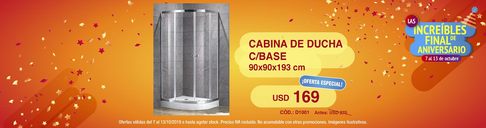 final cabina de ducha
